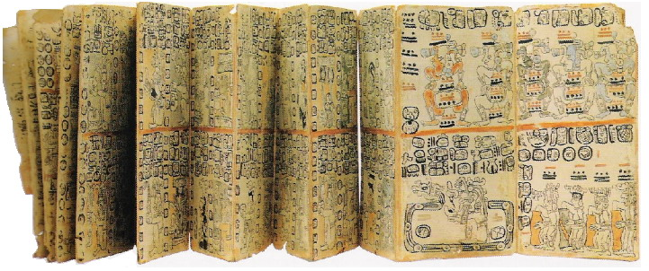 Мадридский кодексы майя, артефакты, майя