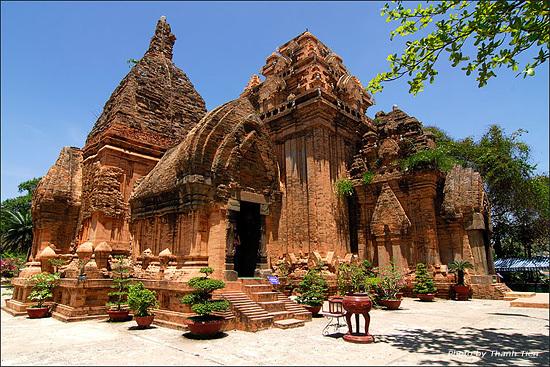 Вьетнам, Мишон, My Son, строения