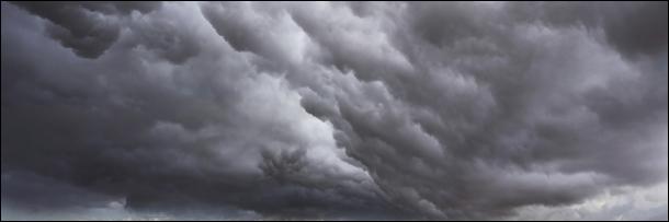 Космическое дождевое облако, космос
