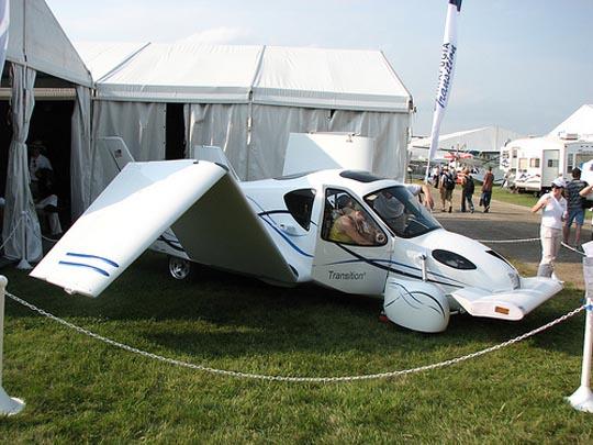 TF-X, Terrafugia, летающий автомобиль, наука