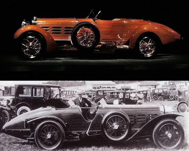 автомобили из дерева, Hispano-Suiza Tulipwood Torpedo