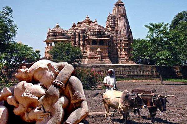 Каджурахо, Индия, Храм Любви, Строения