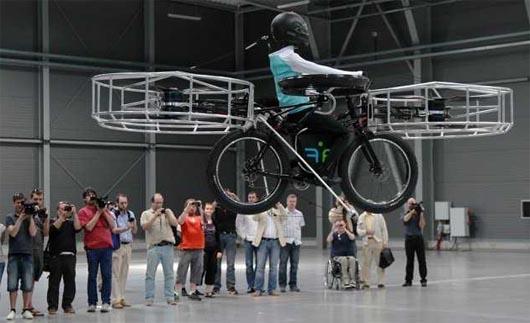 летающий велосипед, технологии, Чехия