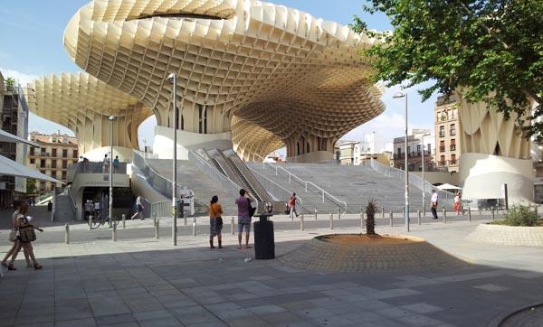строения, Юрген Майер Х, Metropol Parasol, Испания, Севилья