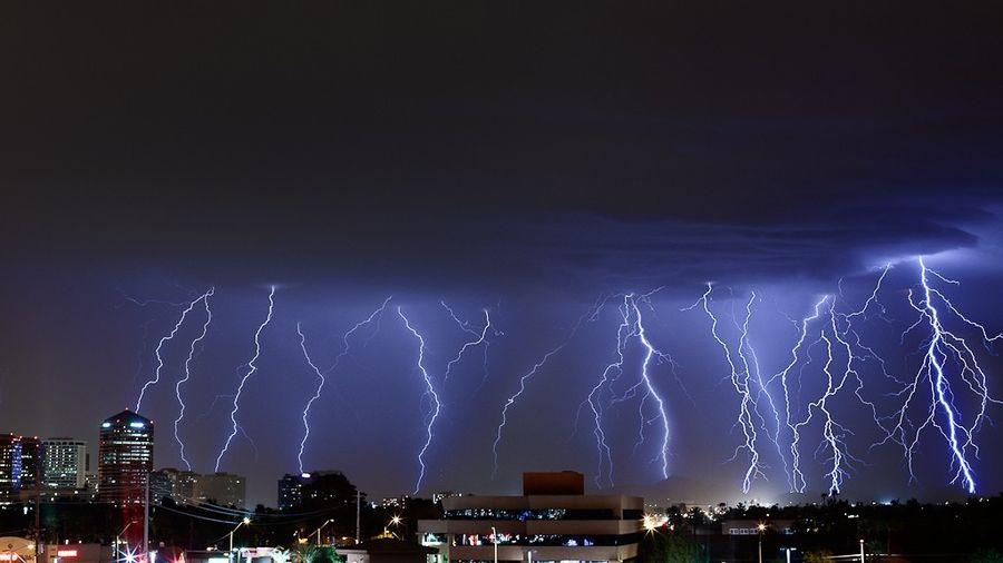молния, стихия