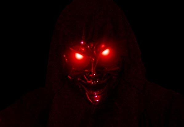 Демон с красными глазами, Блуждающий демон, мистические существа, демоны