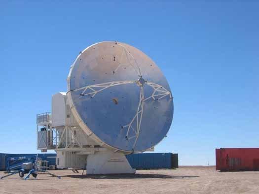 Сеть телескопов SKA