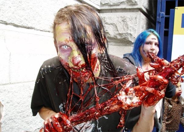 Зомби в США 2013, Зомби в Америке, мистические существа, зомби