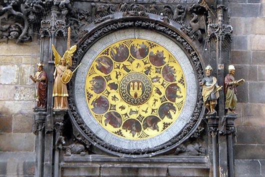 Староместский Орлой, мистические часы, Чехия