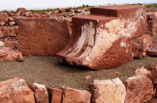 Акыр-Тас, строения, мегалиты, Казахстан