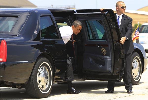 Барак Обама, США, машина президента