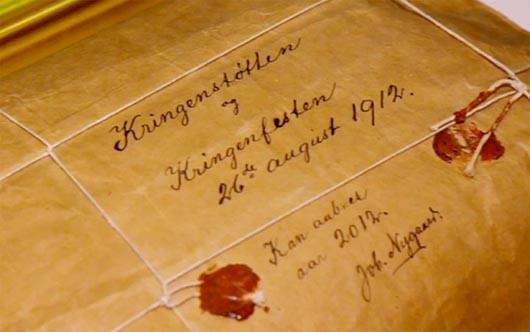 посылка Нигарда, артефакты из будущего, путешествия во времени