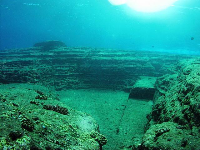 крымская Атлантида, затопленный город Акра