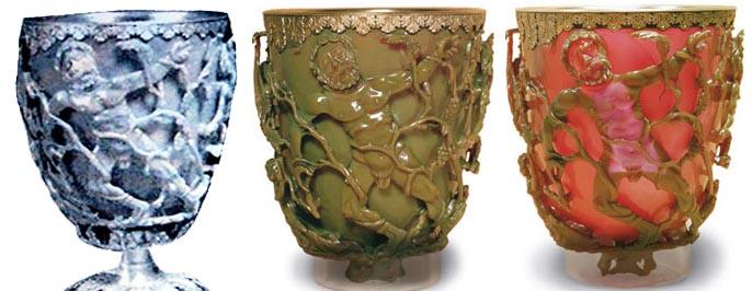 Кубок Ликурга, артефакты, Рим