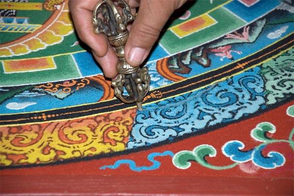 Мандала, Индия, религия