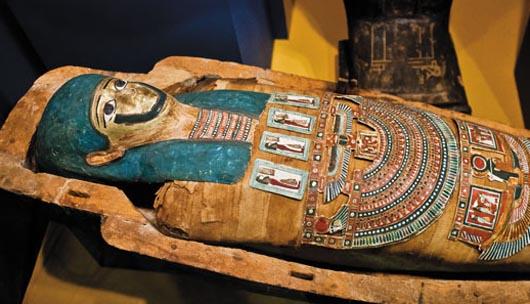 Саркофаг, мумия, Германия