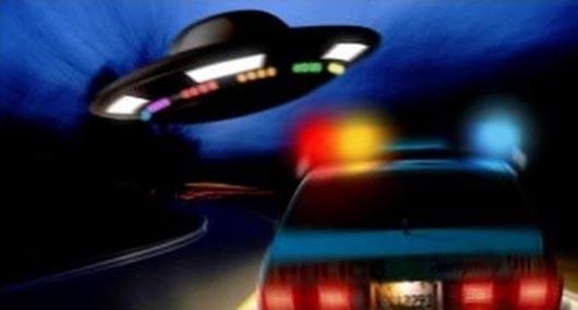НЛО, пришельцы, Непознанное, НЛО и полицейские