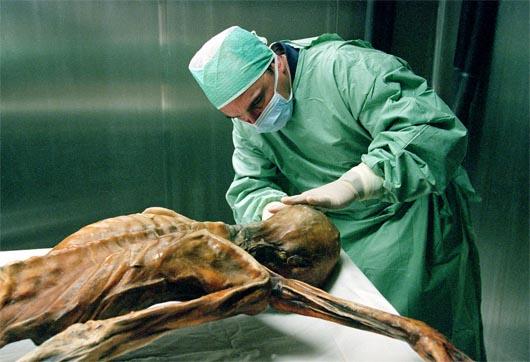 Отци, Ötzi, ледяной человек, проклятие