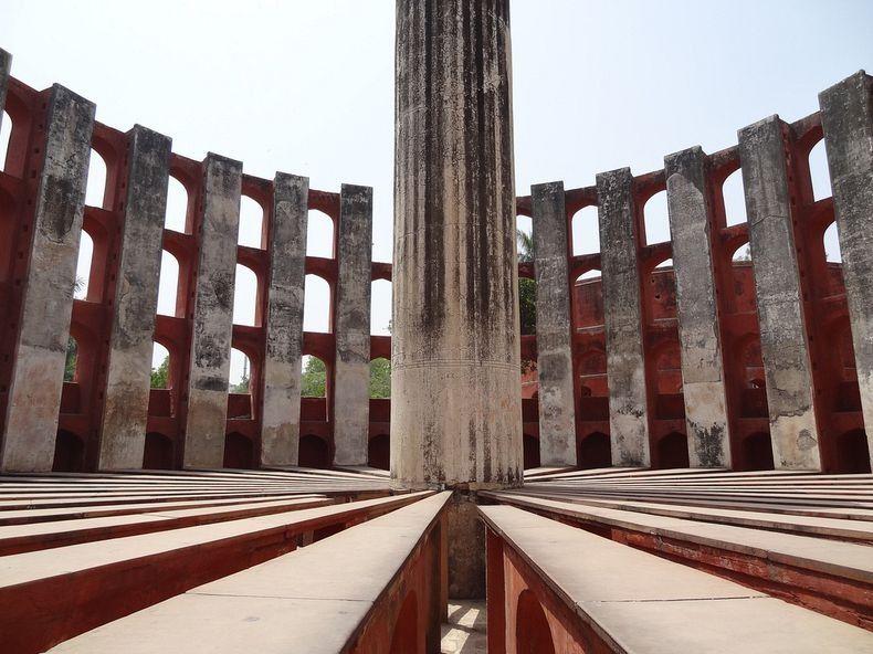 Джантар-Мантар, удивительные строения, строения, Индия