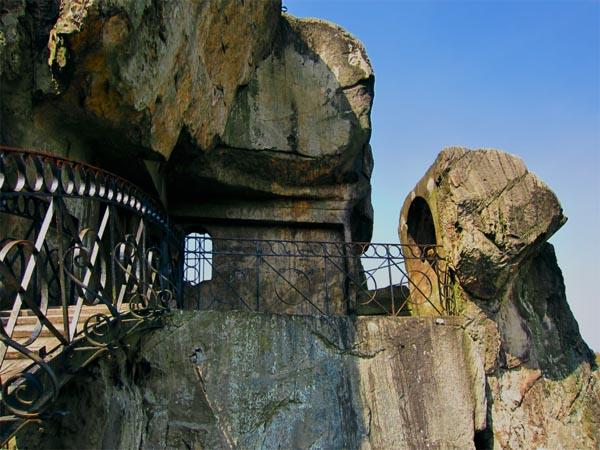 Стоунхендж, Экстернштайне, Германия, удивительные строения