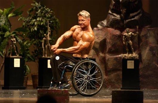 Виктор Коновалов, Удивительные люди, бодибилдер-инвалид