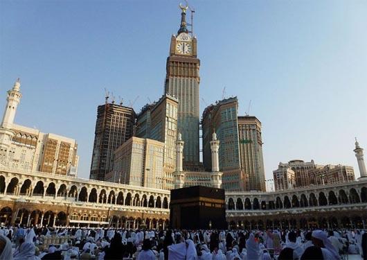 Абраж аль-Баит, самые большие часы в мире, удивительные строения