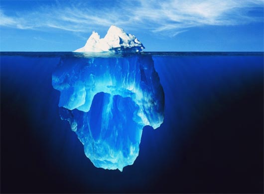 айсберг, запрещенная наука
