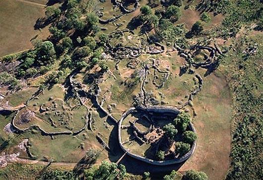 Большой Зимбабве, удивительные строения
