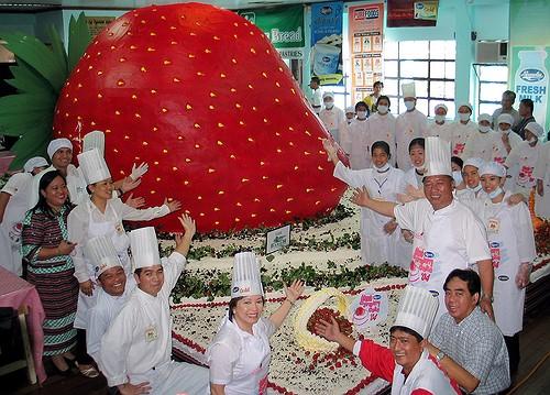 самый большой торт в мире, Книга рекордов Гиннеса