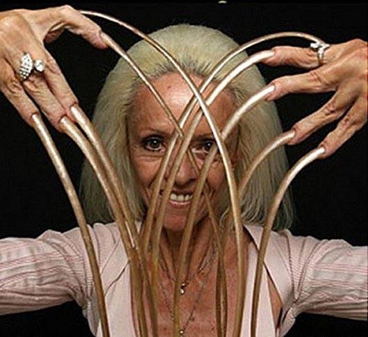 самые длинные ногти, Ли Редмонд, Удивительные люди