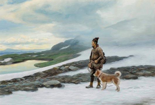 остров Укко, Лапландия, саамы, магия