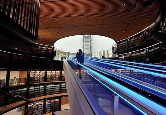 самая большая библиотека в мире, удивительные строения