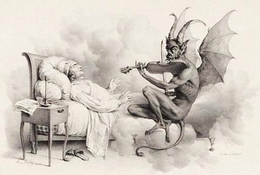мистические существа, дьявол, Джузеппе Тартини, Трель Дьявола
