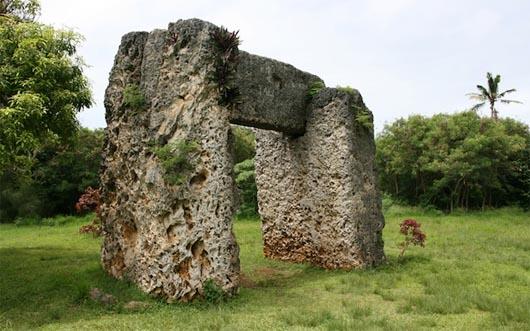 ворота Тонга, мегалиты, Полинезия, удивительные строения
