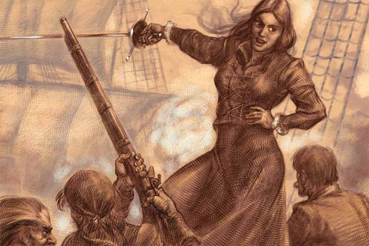 Грейс О'Мейл, пираты, Удивительные люди