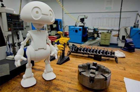 Робот Джимми, роботы. наука, запрещенная наука, 3d принтер