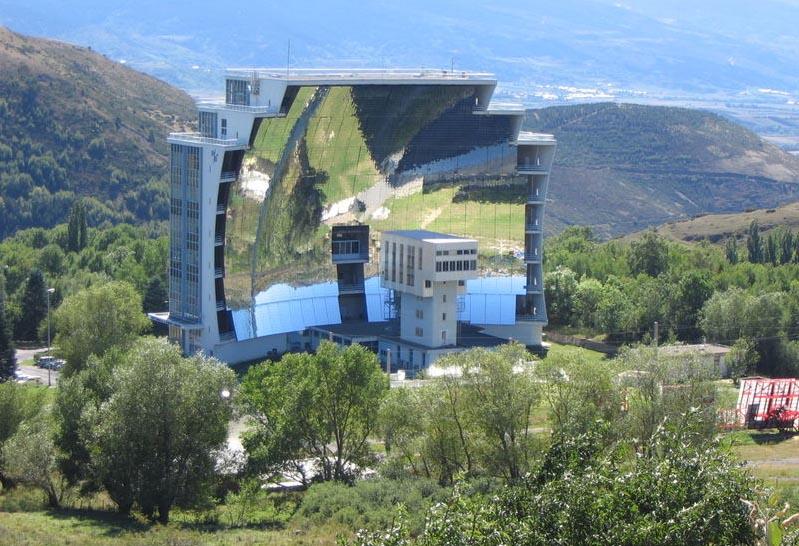solar furnace, солнечная печь, строения