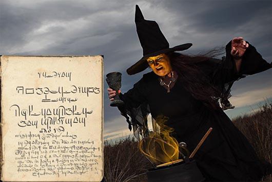 ведьмы, мистические существа, заклинания