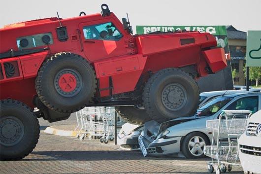 Marauder, самый защищенный автомобиль в мире