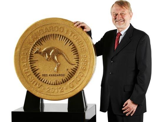 самая большая золотая монета в мире, золото