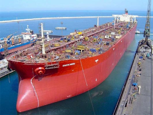 Knock Nevis, самый большой корабль в мире
