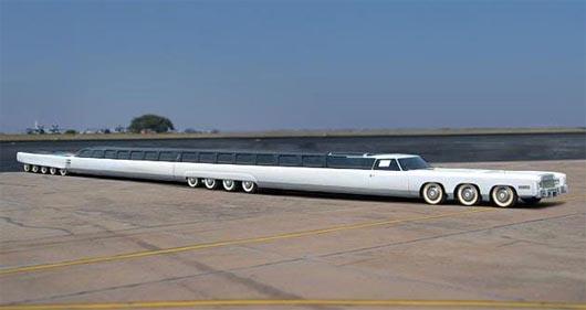 лимузин Джея Орберга, самый длинный автомобиль, Книга рекордов Гиннеса