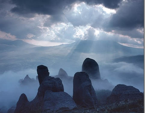 Демирджи, Долина привидений, мистика, Крым