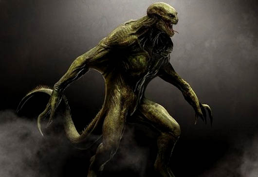 мистические существа, человек-ящер