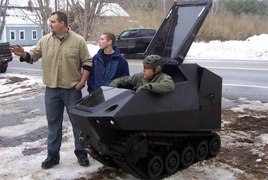 Howe&Howe Technologies, PAV1  Badger, самый маленький танк