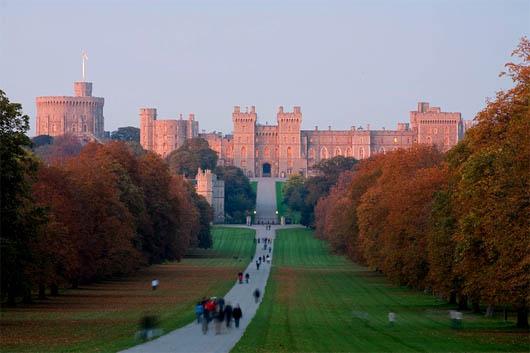 Виндзорский замок, замок, удивительные строения, Книга Рекордов Гиннеса