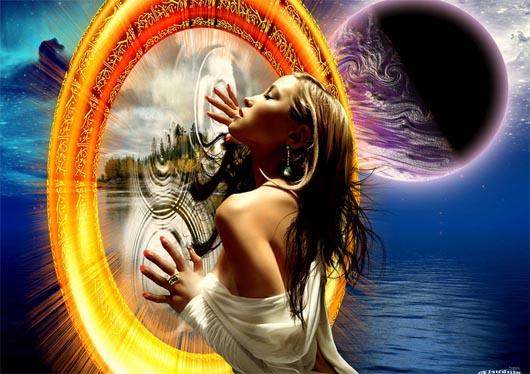 волшебное зеркало, портал, артефакты