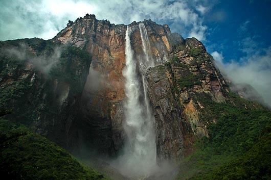 самый высокий водопад, водопад Анхель, Книга рекордов Гиннеса