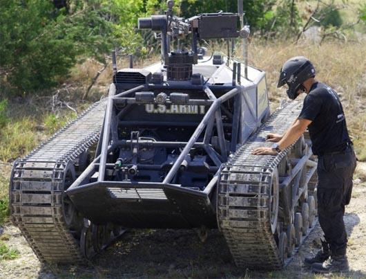 Самый быстрый танк, Ripsaw, запрещенная наука