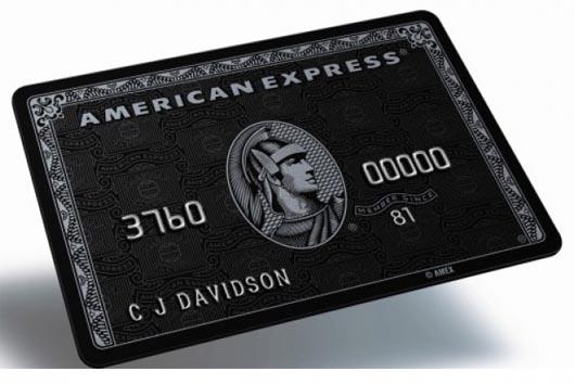 кредитная карта Centurion